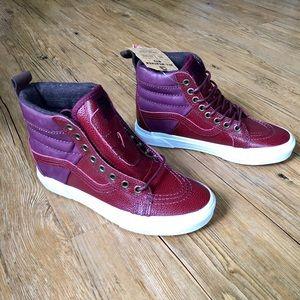 7f17621f74 Vans Shoes - 🆕 VANS Sk8-Hi 46 MTE Pebble Leather Port Royale